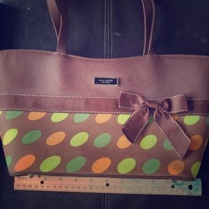 Kate Spade polka dot shoulder bag